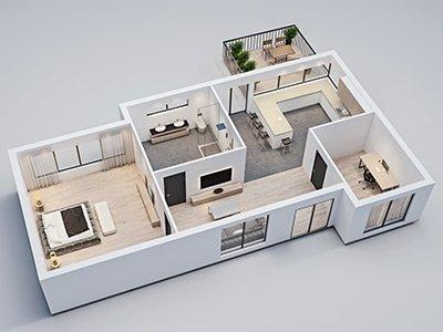 3D Grundrisse Herzogenrath